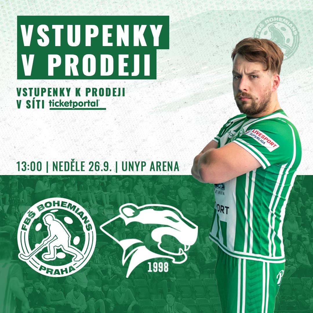 LIVESPORT SUPERLIGA: FbŠ Bohemians vs. Panthers Otrokovice