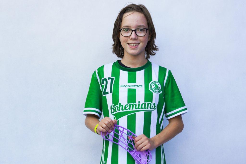 Rozhovor s hráčkou mladších žákyň, Adélou Šafárovou.