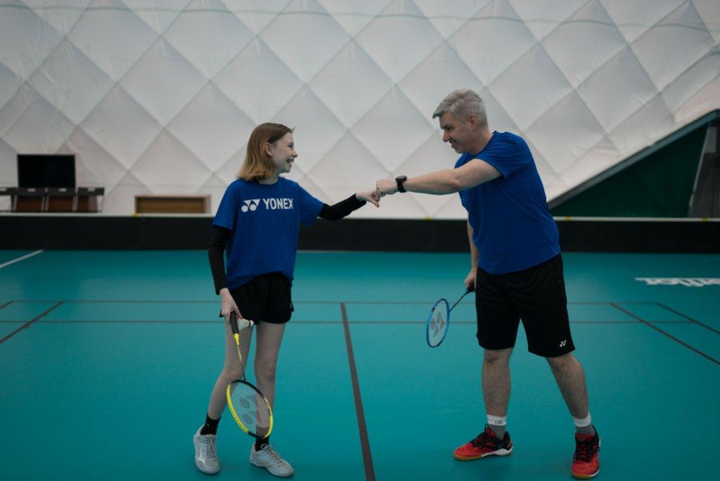 Badminton na Bublině pro všechny členy klubu