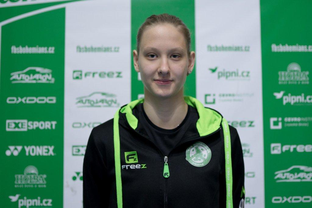 Kristýna Kellovská: Svými výkony chci přispět k naplnění týmových cílů